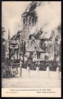 KERK VAN LEISELE ( Leysele ) In Brand 1908 ( Geanimeerd ) - église De Leysele Incendiée 1908 - Alveringem
