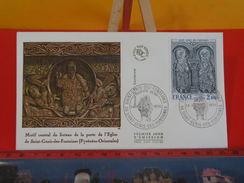 FDC > 1970-1979 > Église - 66 Saint Génis Des Fontaines - 24.1.1976 - 1er Jour. Coté 5 € - FDC