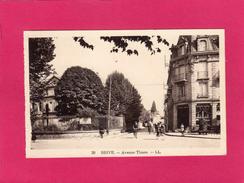 19 CORREZE, BRIVE, Avenue Thiers, Animée, (L. L.) - Brive La Gaillarde