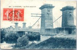18 LE GUETIN - Le Pont Suspendu - Autres Communes