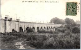 18 LE GUETIN - Pont Canal Sur L'allier. - Autres Communes