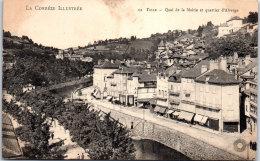 19 TULLE - Quai De La Mairie Et Quartier D'Alverge. - Tulle