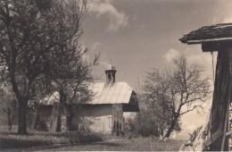 HAUTE SAVOIE - PRES DE SAINT NICOLAS DE VEROCE- CHAPELLE DES CHATTRIX SAINT GERVAIS LES BAINS - PHOTO ORIGINALE 1955 - - Orte