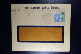 Finland:  Cover 1916 From Tornio Censored  Helsinki 4 Line Cancel + 3 Language Strip - 1856-1917 Amministrazione Russa