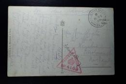 UK: Postcard Used As FieldpostcardBritish Saloniki  Corp FPO B 11 FE 17/GX General HQ Censor 4103 + Signature - 1902-1951 (Könige)