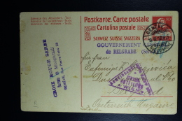 Serbia: 1917  Card Possible From Corfu / Tunesia Gouvernement Gen. De Belgrade (Serbie) - Serbie