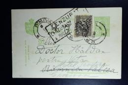 Romania Postcard 12-11-1916  Craiova To Ramnicu-Valcea -> Craiova  Cenurat Censura M / A Judetu  Cancel RR - Postal Stationery