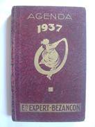 AGENDA 1937 - ETS EXPERT-BEZANCON - AVEC PHOTOS USINE 59 ST ANDRE LEZ LILLE - RELIURE CARTONNEE - Calendriers