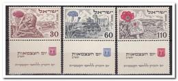 Israel 1952, Postfris MNH, Flowers - Ongebruikt (met Tabs)