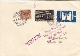Lettre Basel Pour Les USA >> Rebut Retour 1943