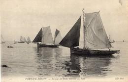14 - Calvados - Port En Bessin - Barque De Pêche Entrant Au Port - Port-en-Bessin-Huppain