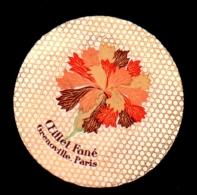 ETIQUETTE De PARFUM - OEILLET FANE  -  GRENOVILLE, PARIS - Labels