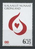 GROENLAND 2009  N° 509 ** Neuf MNH Superbe Cote 2,70 € Coeur Au Profit De La Lutte Contre Le Cancer - Groenlandia