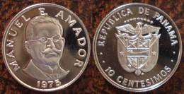 (J) PANAMA: 10 Cents 1975 Proof (623) - Panama