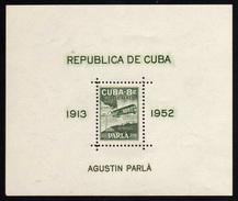 1952 - Cuba - Yv. HB. 11 - MNH - CU-180 - Blocs-feuillets