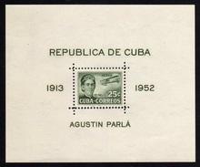 1952 - Cuba - Yv. HB. 13 - MNH - CU-180 - Blocs-feuillets