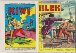 Les Albums Du Grand Blek N° 105, 1967, Rare. - Blek