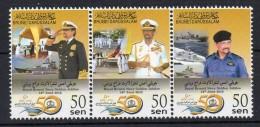 BRUNEI - ROYAL BRUNEI NAVY GOLDEN JUBILEE - JUBILE D'OR DE LA MARINE DU BRUNEI - 2015 - Se Tenant - - Brunei (1984-...)