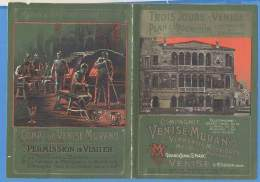 Compagnie De Venise Murano , Cartina Pubblicitaria  Primi 900 - Pubblicitari