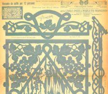 Disegno Drawings Fretwork Carlo Amati Tav 596 193x Vassoio Caffè 12 Persone  DVD - DOWNLOAD - Altri