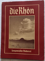 DIE  RHON -Illustrazioni FOTO Tutte B/Nere  (260910) - Guide Turistiche