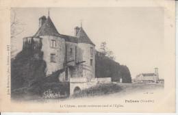PALLUAU   ( Vendée ) - Château , Entrée Extérieure Nord Et L'église PRIX FIXE - Otros Municipios