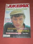 JUKEBOX MAGAZINE / COTE  DISQUES VINYLES 1960 / SPECIAL JOHNNY HALLYDAY SPECIAL QUEBEC 1960/ 68 /CARTES POSTALES RARETE - Musique