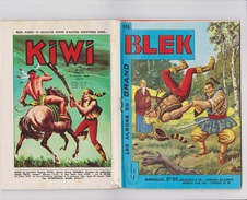 Les Albums Du Grand Blek N° 110, 1968, Rare. - Blek