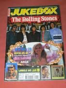 JUKEBOX MAGAZINE / COTE  DISQUES VINYLES 1960 / SPECIAL ROLLING STONES 45 TOURS DECCA ALLEMANDS  /CARTES POSTALES RARETE - Musique
