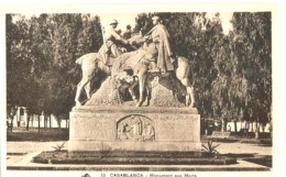 Maroc - Casablanca - Monument Aux Morts  : Achat Immédiat - Casablanca