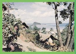 MAYOTTE / VUE DE SADA.../ Carte Vierge Des Années 70 - Mayotte