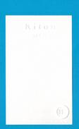 Cartes Parfumées Carte KITON MEN - Perfume Cards