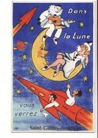 """Carte à Système (avec Tirette) De Saint Gildas De Rhuys """"Dans La Lune"""" / Edition Gaby N°131 - France"""