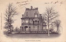 CPA - 54 - JOEUF - Propriété De Wendel - Other Municipalities