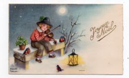 Mignonnette - Illustrateur Petersen - Joyeux Noël - Enfant - Violon - Petersen, Hannes