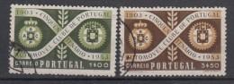 PORTUGAL - Michel - 1953 - Nr 811/12 - Gest/Obl/Us - 1910-... République