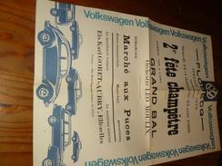 FLOBECQ 1968 Grand Balorchestre LEO MOULIN  VW - Manifesti