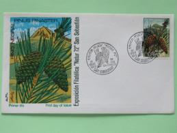 Spain 1972 FDC Cover - Trees - Pinus - 1931-Oggi: 2. Rep. - ... Juan Carlos I