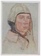 Dt.- Reich (A2731) Propagandakarte Unsere Luftwaffe, W. Willrich, Ein Unteroffizier Der Als Jagtflieger, Ungebraucht - Germany