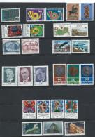 Liechtenstein 1972-1989 - 11 X MNH Sets From Period Cat £30 SG2015 - See Full Description Below - Liechtenstein