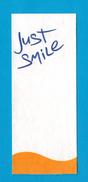 Cartes Parfumées Carte JUST SMILE - Perfume Cards