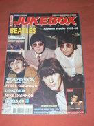 JUKEBOX MAGAZINE / COTE  DISQUES VINYLES 1960 / SPECIAL BEATLES ALBUMS STUDIO 1936 / 66   / COTE CARTES POSTALES RARETE - Musique