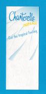 Cartes Parfumées Carte CHANTERELLE TROPICALE - Perfume Cards