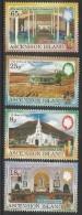 1991 Ascension Christmas Church Complete Set Of 4 MNH - Ascension (Ile De L')