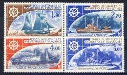 TAAF Posta Aerea 1976-82 Serie N. 44-46 + N. 72 MNH Catalogo € 28,50 - Posta Aerea