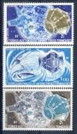 TAAF Posta Aerea 1977 - 79 Serie N. 49-50 E N. 56 Satelliti MNH Catalogo € 11,25 - Posta Aerea