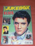 JUKEBOX MAGAZINE / COTE  DISQUES VINYLES 1960 / SPECIAL ELVIS PRESLEY EN 78 TOURS ET LIVRE / COTE CARTES POSTALES RARETE - Musique