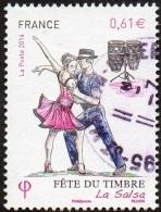 Oblitération Cachet à Date Sur Timbre De France N° 4904 ** Fête Du Timbre - Danse - La Salsa - France
