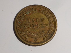 WORCESTER COOPERATIVE COMPANY LIMITED // HALF SOVERn    Reverse Plain - Professionals/Firms