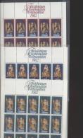 Liechtenstein  **  813-815 Weihnachten     Kleinbogen Ungefaltet Katalog 40,00 - Unused Stamps